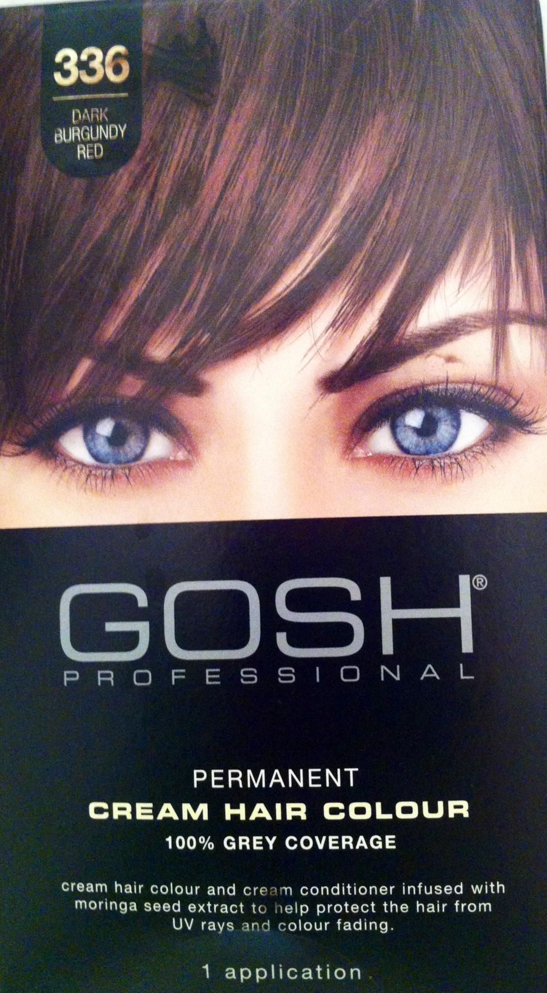 Product Review Gosh Hair Dye Goshuk Ziddi Tamana