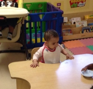 NI's First Day of Daycare