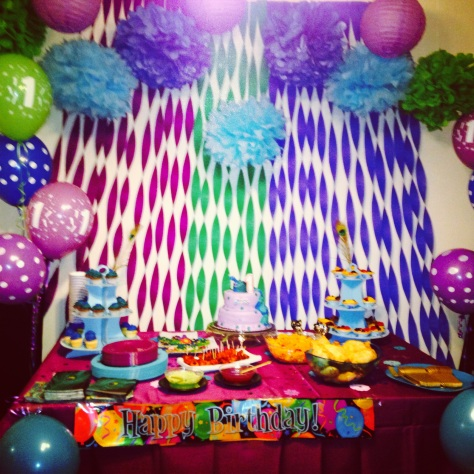 Ni's 1st Birthday Party