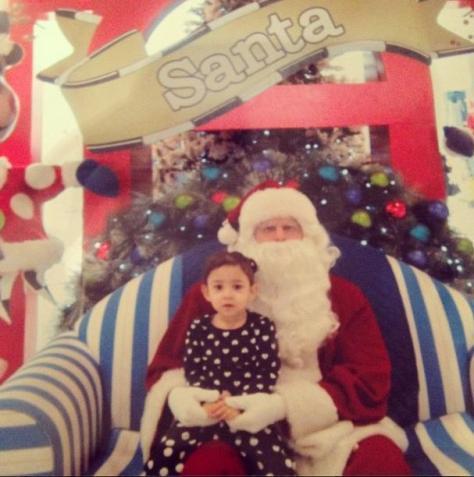 Ni with Santa
