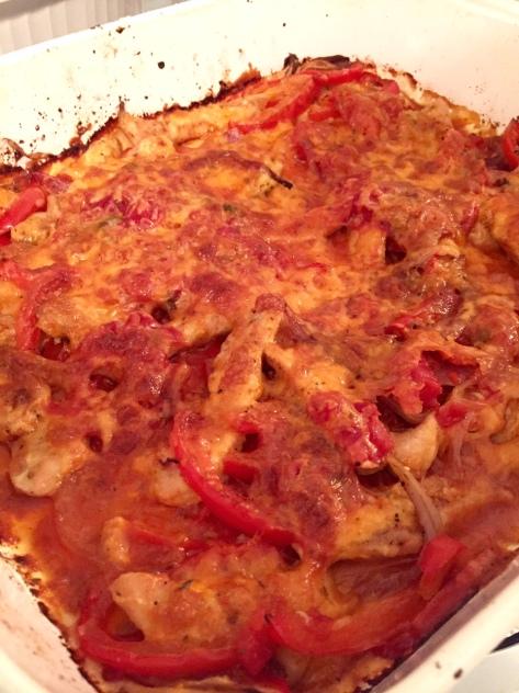 Baked Chicken Fajita