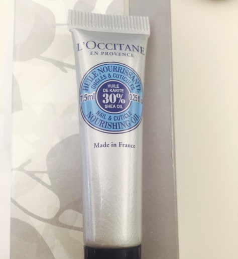 L'Occitane's Shea Nail & Cuticle Nourishing Oil